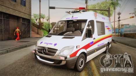 Mercedes-Benz Sprinter 2012 SA EMS Alliance для GTA San Andreas