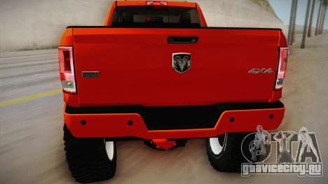 Dodge Ram 2500 Lifted Edition для GTA San Andreas вид справа