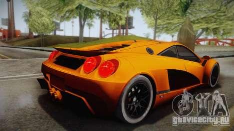 HTT Plethore LC750 2012 для GTA San Andreas вид слева