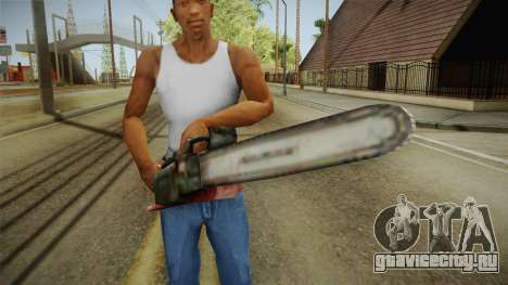 Silent Hill 2 - Chainsaw для GTA San Andreas