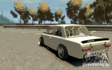 ВАЗ 2101 Боевая Классика (Paul Black prod.) для GTA 4 вид слева