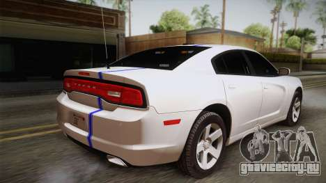 Dodge Charger 2013 Undercover для GTA San Andreas вид слева