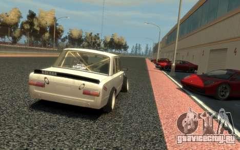 ВАЗ 2101 Боевая Классика (Paul Black prod.) для GTA 4 вид сбоку