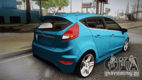Ford Fiesta Kinetic Design для GTA San Andreas вид слева