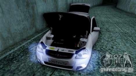 Lada Priora для GTA San Andreas колёса