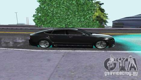 AUDI A7 SPORTSBACK для GTA San Andreas вид слева