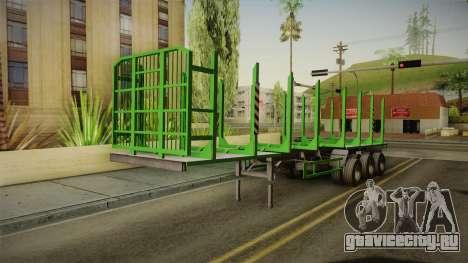 МАЗ 99864 Trailer v2 для GTA San Andreas вид справа