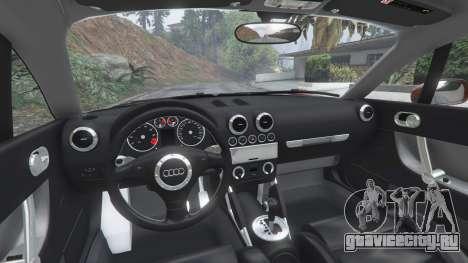 Audi TT (8N) 2004 [add-on] для GTA 5 вид справа