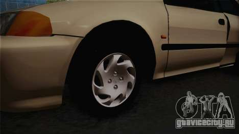 Honda Civic Sedan EX 1993 для GTA San Andreas вид сзади