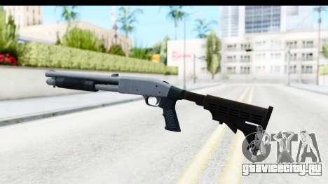 Tactical Mossberg 590A1 Chrome v4 для GTA San Andreas второй скриншот
