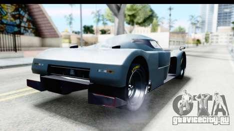 GTA 5 Annis RE-7B IVF для GTA San Andreas вид сзади слева