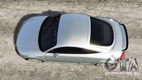Audi TT (8N) 2004 [replace] для GTA 5 вид сзади