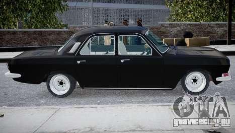 ГАЗ 24 для GTA 4 вид слева