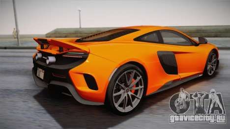 McLaren 675LT 2015 10-Spoke Wheels для GTA San Andreas вид слева