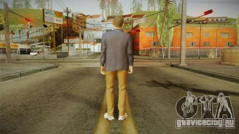 Quantum Break - William Joyce (Dominic Monaghan) для GTA San Andreas третий скриншот