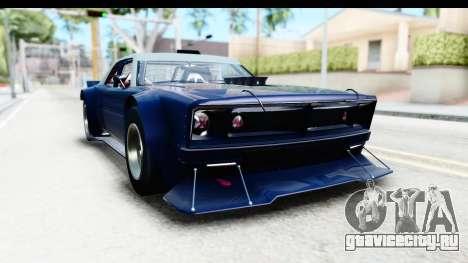 GTA 5 Declasse Tampa Drift для GTA San Andreas вид сзади слева