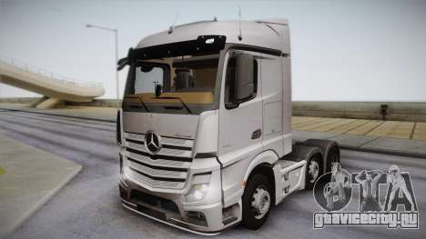 Mercedes-Benz Actros Mp4 6x2 v2.0 Steamspace для GTA San Andreas