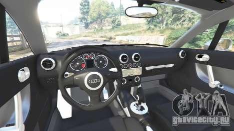 Audi TT (8N) 2004 [replace] для GTA 5 вид справа