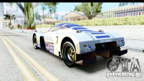 GTA 5 Annis RE-7B IVF для GTA San Andreas вид сверху