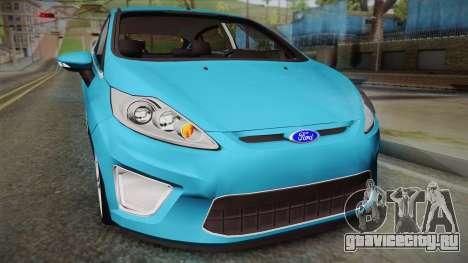 Ford Fiesta Kinetic Design для GTA San Andreas вид справа