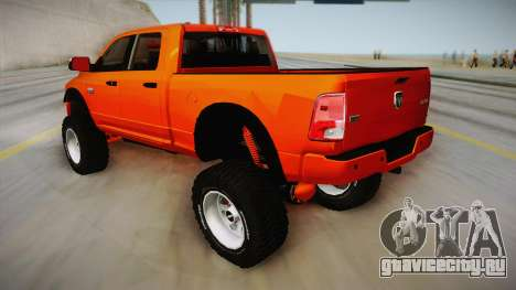 Dodge Ram 2500 Lifted Edition для GTA San Andreas вид слева
