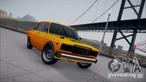 ВАЗ 2105 Пятачок 1.1 для GTA San Andreas вид сзади