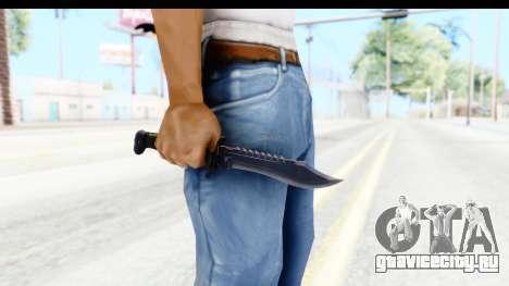 CS:GO - Bowie Knife для GTA San Andreas третий скриншот