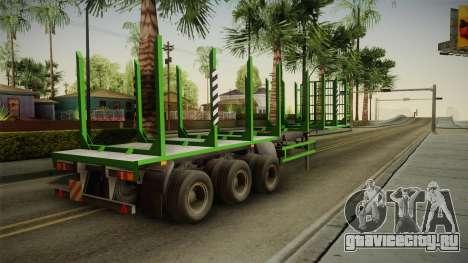 МАЗ 99864 Trailer v2 для GTA San Andreas вид слева