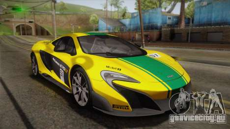 McLaren 675LT 2015 10-Spoke Wheels для GTA San Andreas салон