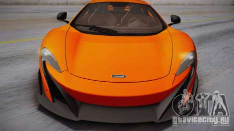 McLaren 675LT 2015 10-Spoke Wheels для GTA San Andreas вид сзади слева