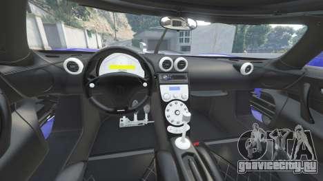 Koenigsegg CCX 2006 [Autovista] v2.0 [add-on] для GTA 5 вид спереди справа