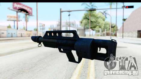 Pancor Jackhammer для GTA San Andreas второй скриншот