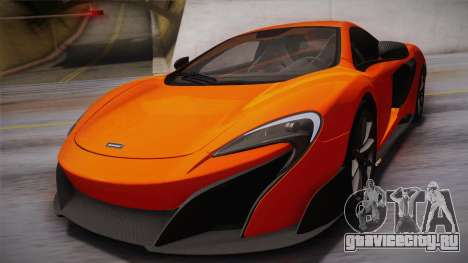 McLaren 675LT 2015 10-Spoke Wheels для GTA San Andreas вид сбоку