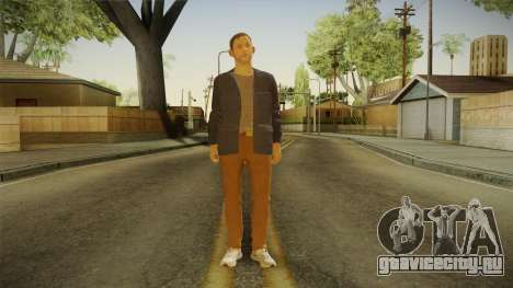 Quantum Break - William Joyce (Dominic Monaghan) для GTA San Andreas второй скриншот