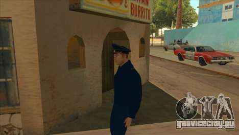 Прокурор в куртке ПШ для GTA San Andreas второй скриншот