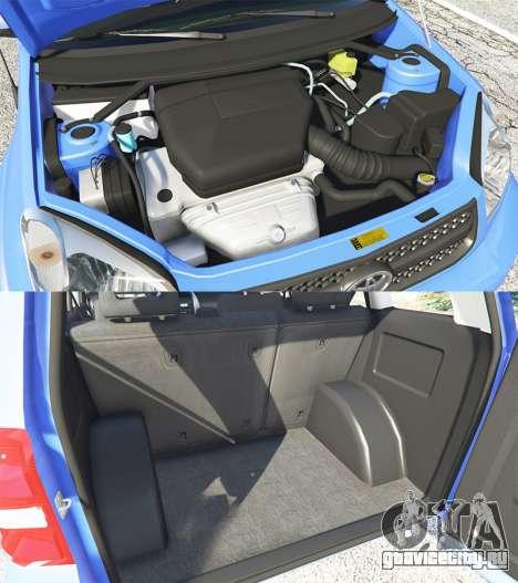 Toyota RAV4 (XA20) [replace] для GTA 5 вид справа