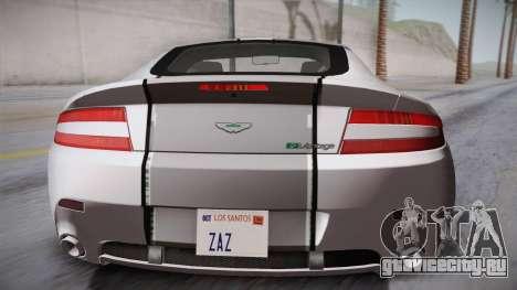 NFS: Carbon TFKs Aston Martin Vantage для GTA San Andreas вид сзади