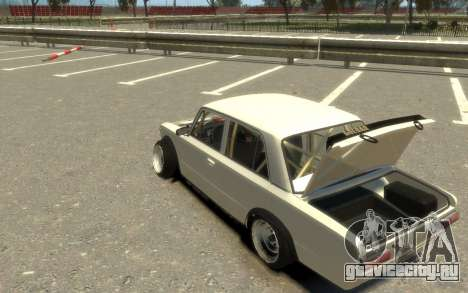 ВАЗ 2101 Боевая Классика (Paul Black prod.) для GTA 4 вид сзади слева