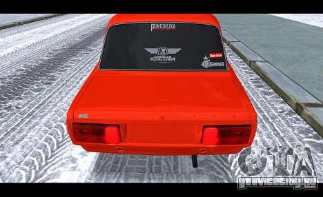 ВАЗ 2105 Пятачок v3 для GTA San Andreas вид сзади