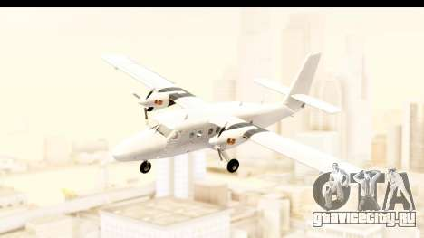 DHC-6-400 All White для GTA San Andreas