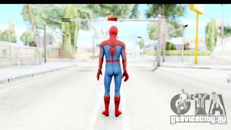 Marvel Heroes - Spider-Man Civil War для GTA San Andreas третий скриншот