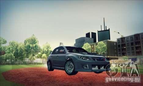 Subaru Impreza WRX STI 2011 для GTA San Andreas вид сбоку