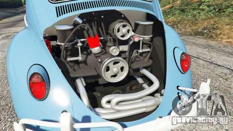 Volkswagen Fusca 1968 v0.9 [replace] для GTA 5 вид справа