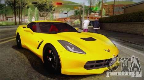 Chevrolet Corvette Stingray 2015 для GTA San Andreas