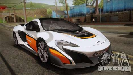 McLaren 675LT 2015 10-Spoke Wheels для GTA San Andreas колёса