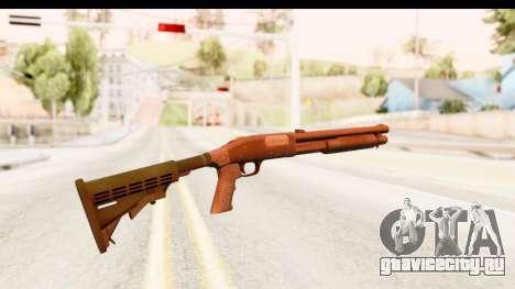 Tactical Mossberg 590A1 Black v2 для GTA San Andreas второй скриншот