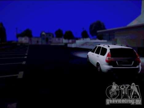Lada 2171 для GTA San Andreas вид сзади слева