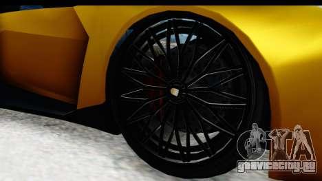 GTA 5 Pegassi Reaper IVF для GTA San Andreas вид сзади