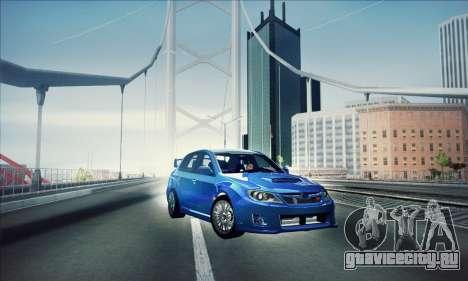Subaru Impreza WRX STI 2011 для GTA San Andreas
