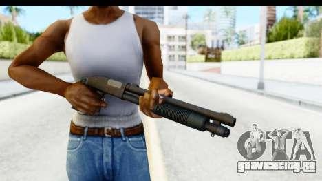 Tactical Mossberg 590A1 Black v3 для GTA San Andreas третий скриншот